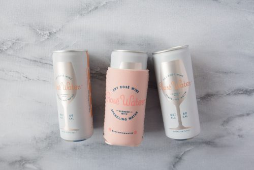 National Rosé Day - Rosé Water Cans and Koozies