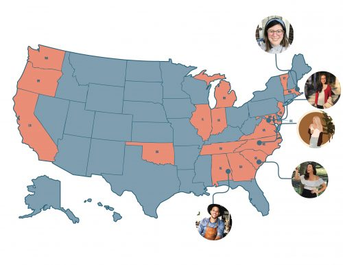 Year   US Map Showcasing Consumer Faces