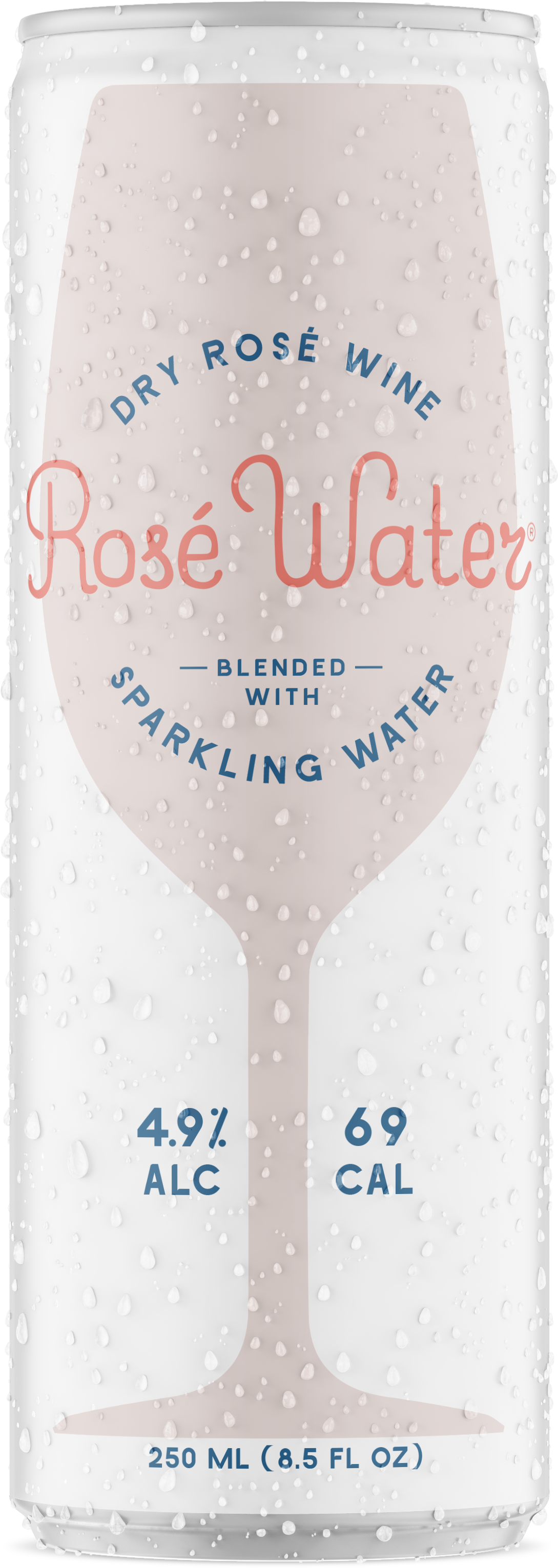 Rosé Water Can