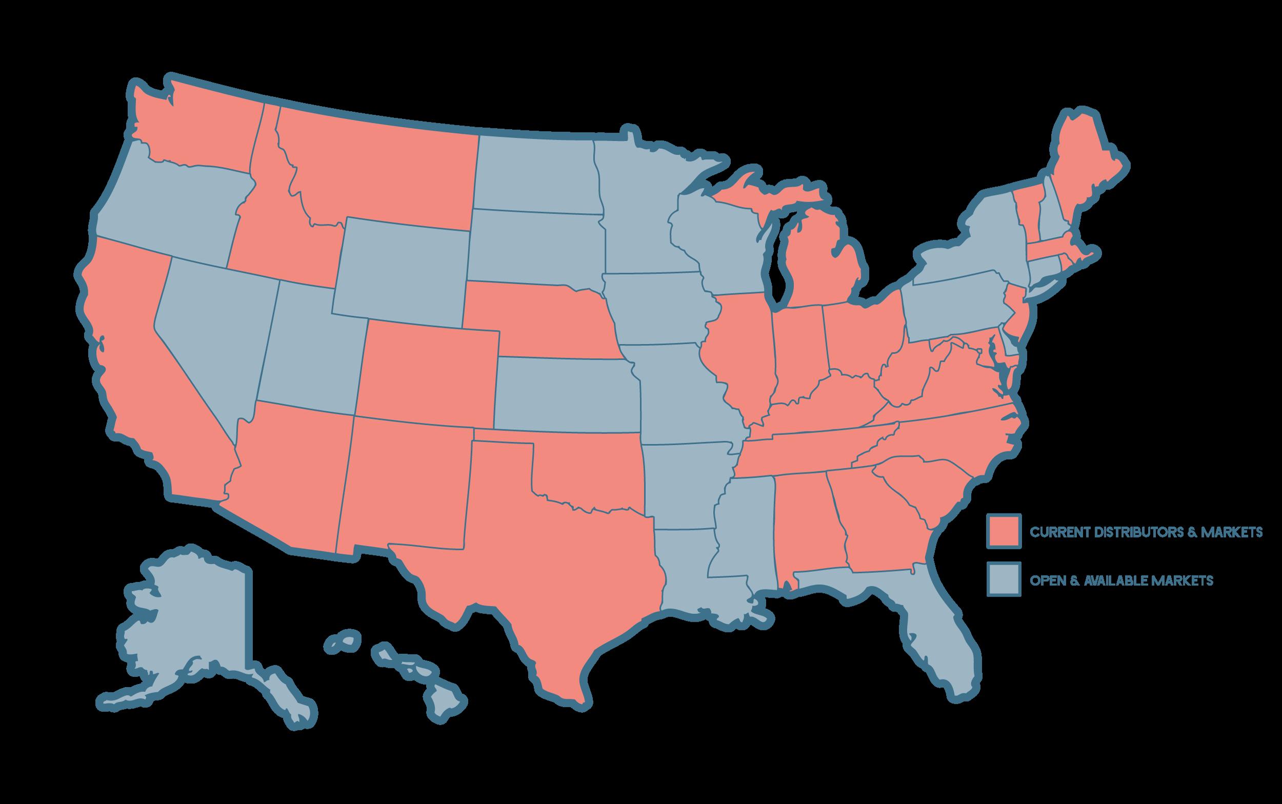 Rosé Water Distributor Market Map