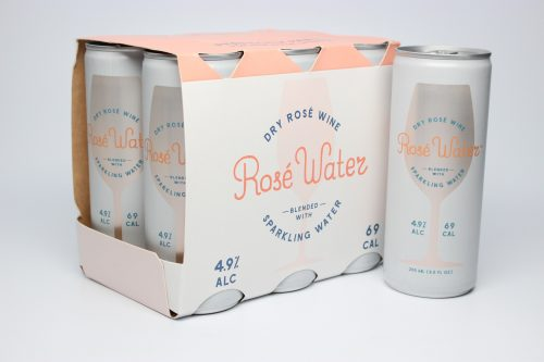 Six Pack of Rosé Water